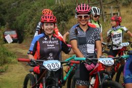 Junto a Marthica Cortés del Team Specialized Tugó Sram.