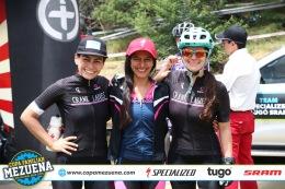 Junto a Natalia Rivera y Diana López de Crank Ladies.